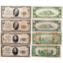 National Currency Notes, CA - San Francisco,