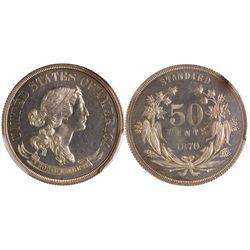1870 50c J-957