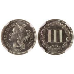 1879 3 cent nickel