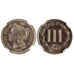 1889 3 cent nickel
