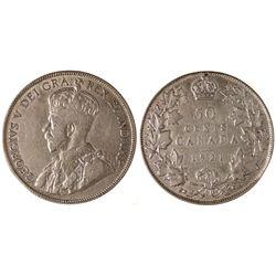 Rare Canadian 50c Piece,  - Canada
