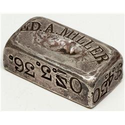 Ed A Miller Silver Ingot, NV - Austin,Lander County