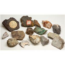 California Nevada and Arizona Ore Specimen Collection, CA - ,