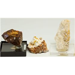 Excelsior Mountains Gold Specimens, NV - ,Mineral County