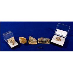 Nellie Grey Mine Gold and Silver Specimens, NV - Manhattan,Nye County