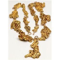 Gold Nugget Necklace, AK