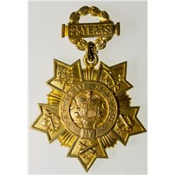 National Guard Gold Badge, NY - New York City