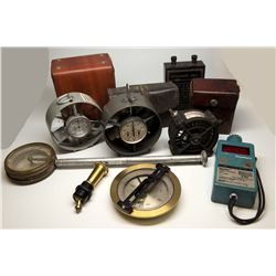 Assorted Mining and Engineering Instruments