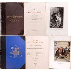 Large Illustrated Art History Books