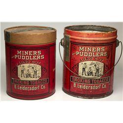 Miners Tins