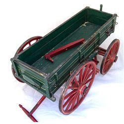 Scale Model Hardware Wagon