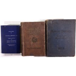 Three Mining Supply Catalogs--Eastern and Midwest States,  - ,