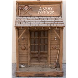 To-Scale John Falkowski Assay Office Model