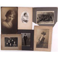 N. E. Johnson Family Photos, CA
