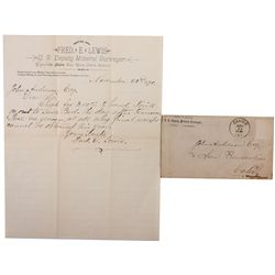 Calico Document and Cover, CA - Calico,Kern County