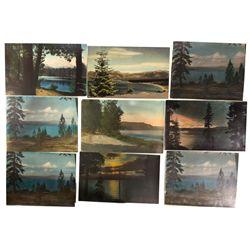 Colorized Lake Tahoe Photographs, CA - Lake Tahoe,El Dorado County