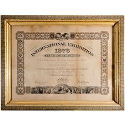 Centennial Commission Award, CA - Napa County,