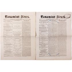 Panamint City Newspapers, CA - Panamint City,Inyo County