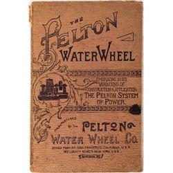Pelton Water Wheel Booklet, CA - San Francisco,