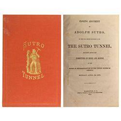 Sutro Tunnel Book, CA - San Francisco,