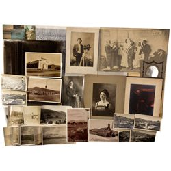Bodie and N.E. Johnson Family Photos and Postcards, CA - San Jose,Santa Clara County