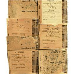 Wells Fargo & Co. Agent's Money Order Receipt Books, CA - Tracy,San Joaquin County