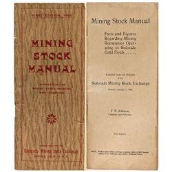 Mining Stock Manual, CO - Cripple Creek,Teller County