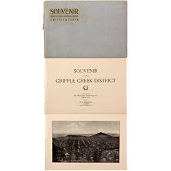 Souvenir Picture Book, CO - Cripple Creek,Teller County