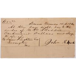 Clark, Gruber & Co. Letter, CO - Denver,