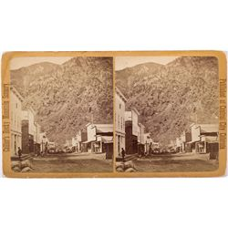 Georgetown Stereoview, CO - Georgetown,Clear Creek County
