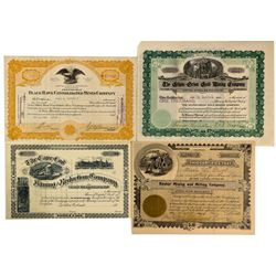 Gilpin Stock Certificates, CO - Gilpin County,
