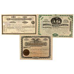 Leadville Stock Certificate Group, CO - Leadville,Lake County
