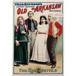 """""""The Quartet""""  Vaudeville Poster, IL - Chicago,Cook County"""