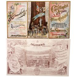 Ad Card for Columbia Exposition, IL - Chicago,Cook County