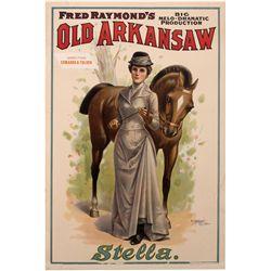 Stella Vaudeville Poster #1, IL - Chicago,Cook County