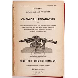 Henry & Heil Chemical Co. 1903 Catalog, MO - St Louis,