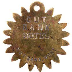 Cut Bank Hotel Key Fob, MT - Cut Bank,Glacier County
