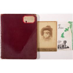 Composition Book with Personal Account of Lynching, NE - Nebraska City,Otoe County