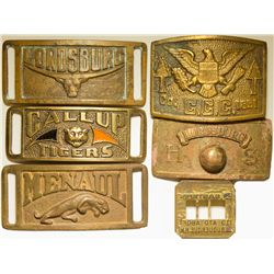 New Mexico Belt Buckles, NM - ,