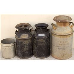 Milk Can Collection, NM - Las Vegas,San Miguel County