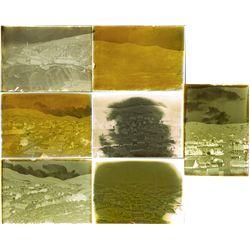 Austin Nevada Area Glass Negatives in Original Box, NV - Austin,Lander County