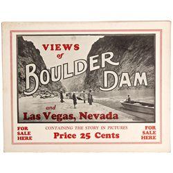 Boulder Dam Photo Promotional Brochure, NV - Boulder City,Clark County