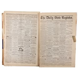 Old Carson City Newspapers, NV - Carson City,Ormsby County