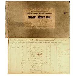 Wells Fargo & Co. Express Receipt Book, NV - Carson City,