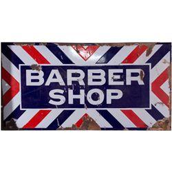 Vintage Barber Sign, NV - Ely,White Pine County