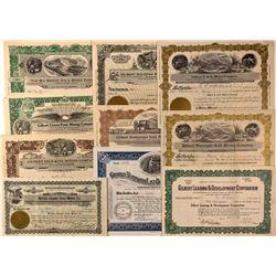 Gilbert Stock Certificates, NV - Gilbert,Esmeralda County