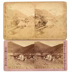 Gold Hill Stereo Views, NV - Gold Hill,Storey County