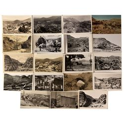Mines, Buildings, & Views of Town Post Cards, NV - Gold Hill,Storey County