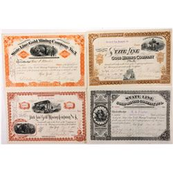 State Line Mining Company Collection, NV - Gold Mountain District,Esmeralda County