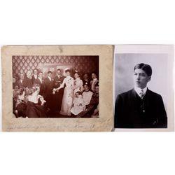 Harry Stimler, Young Mining Magnate, Photos, NV - Goldfield,Esmeralda County